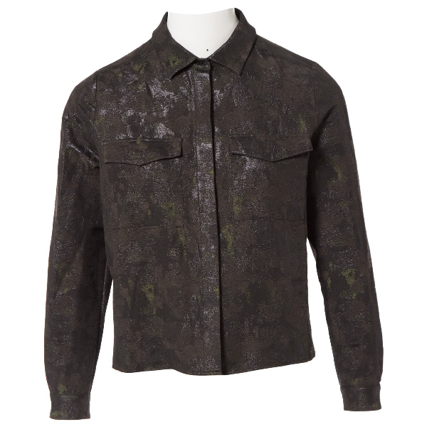 Hugo Boss Khaki Cotton Jacket