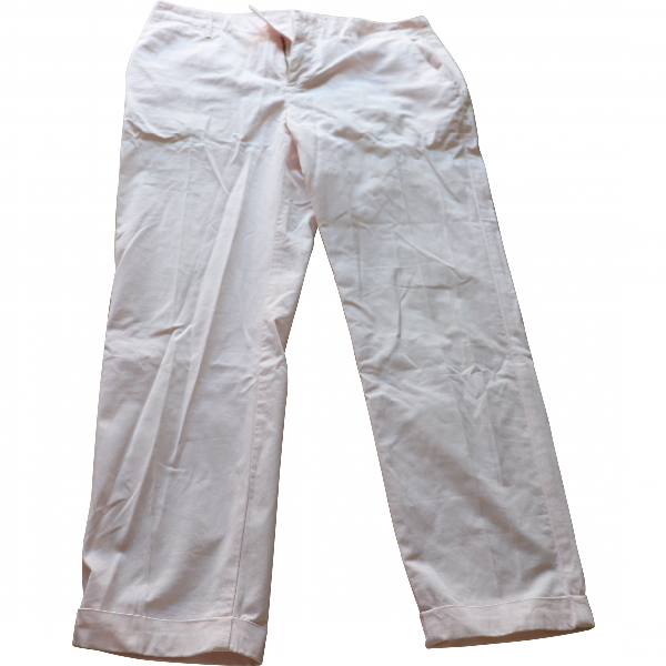 Closed Pink Cotton Trousers
