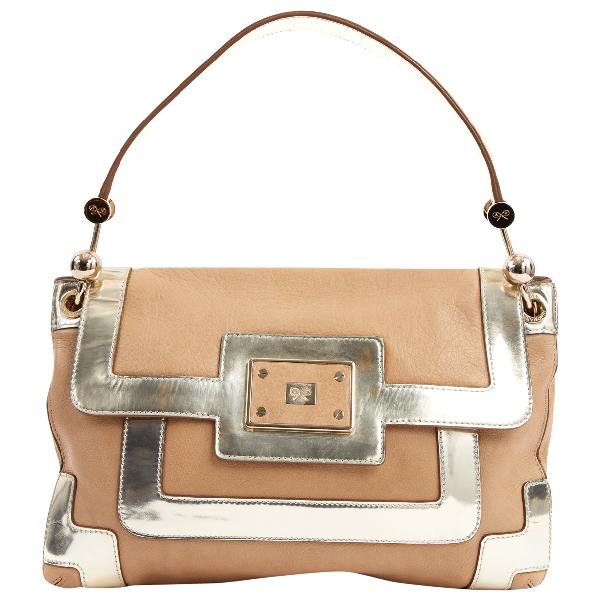 Anya Hindmarch Beige Leather Handbag