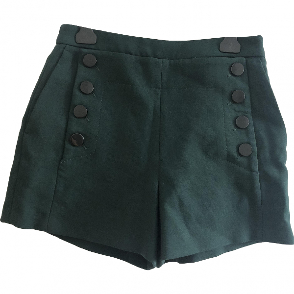 Sandro Green Shorts