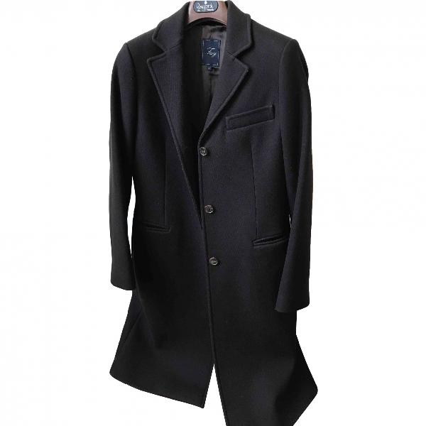 Fay Brown Wool Coat