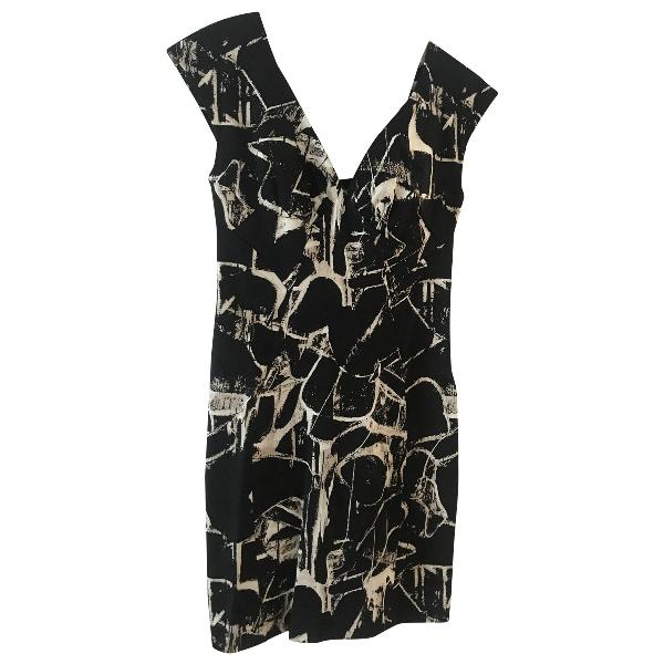 Samantha Sung Black Cotton Dress