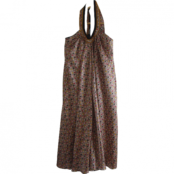 Kenzo Multicolour Silk Dress