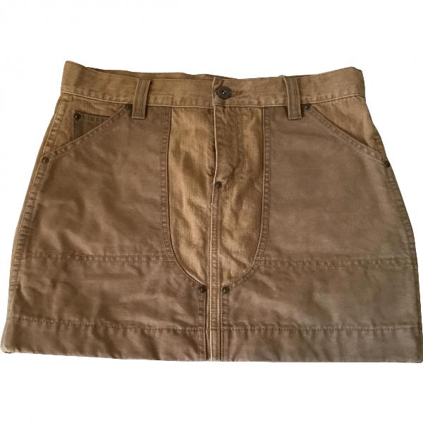 Ralph Lauren Beige Cotton Skirt