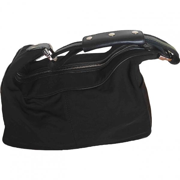 Tod's Black Cloth Handbag