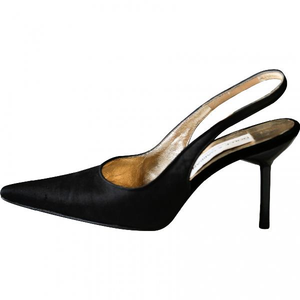 Dolce & Gabbana Black Cloth Heels