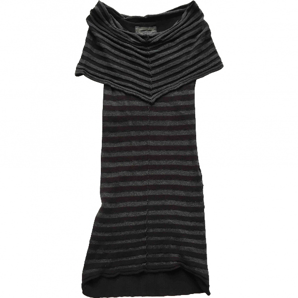 Allsaints Black Cotton Dress