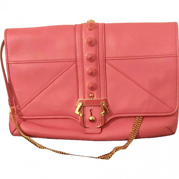Paula Cademartori Pink Leather Handbag