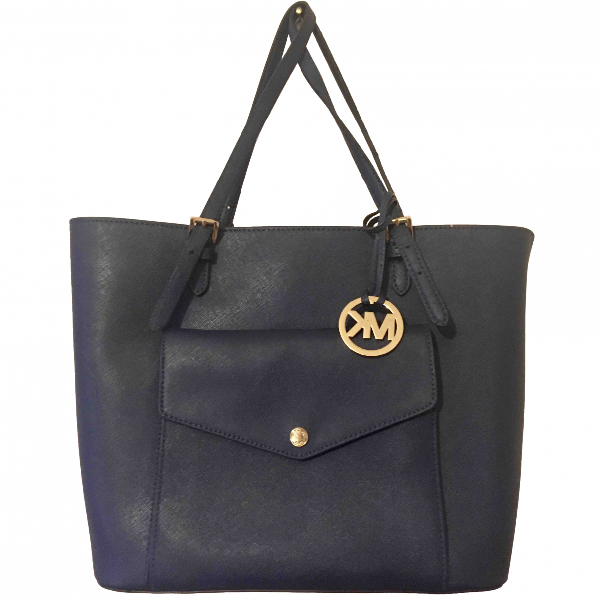 Michael Kors Blue Leather Handbag
