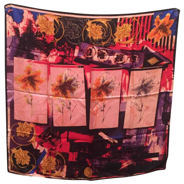 Versace Multicolour Silk Silk Handkerchief