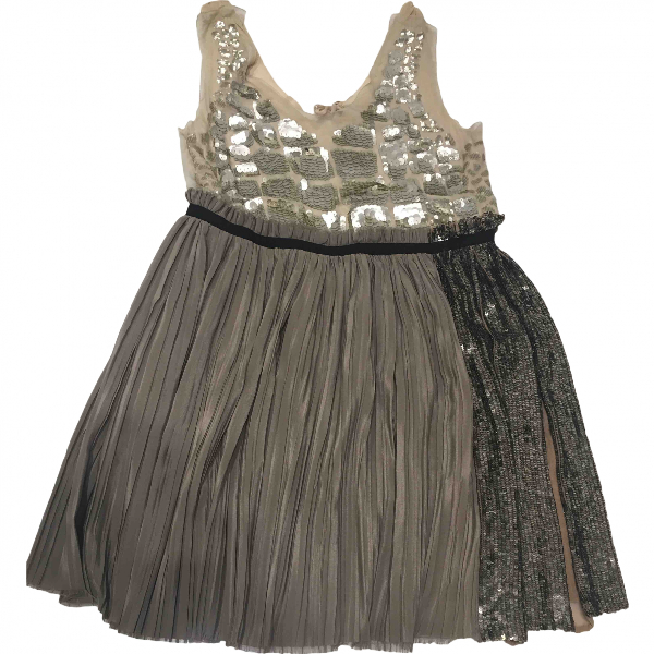 3.1 Phillip Lim Grey Silk Dress