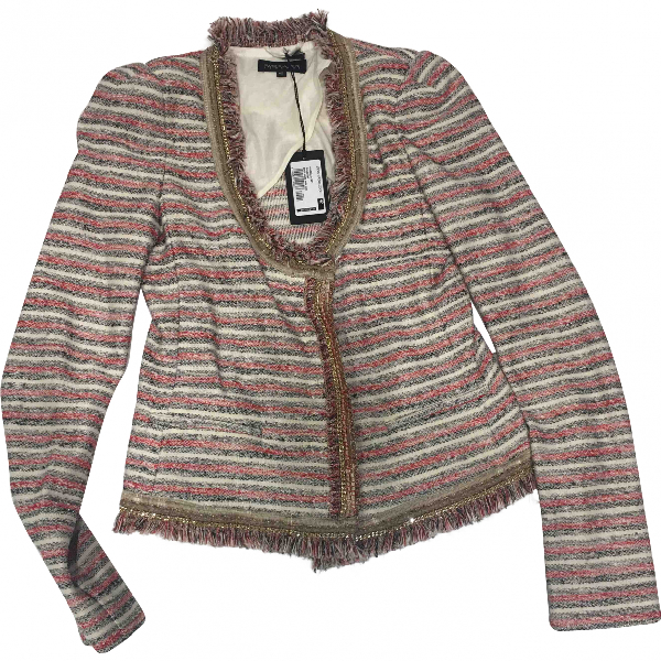 Patrizia Pepe Multicolour Wool Jacket