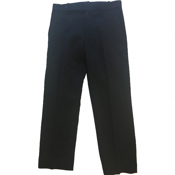 Helmut Lang Black Wool Trousers