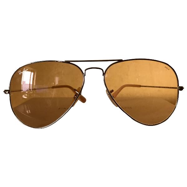 Ray Ban Gold Metal Sunglasses