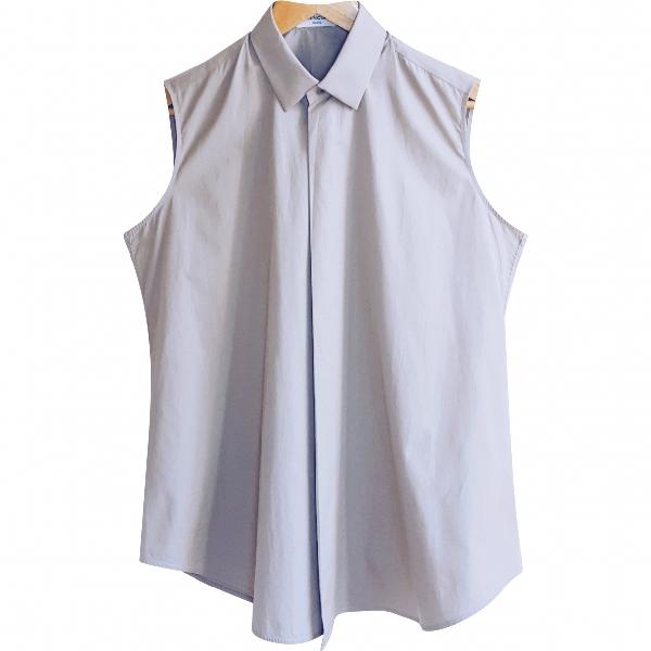 Balenciaga Khaki Cotton  Top