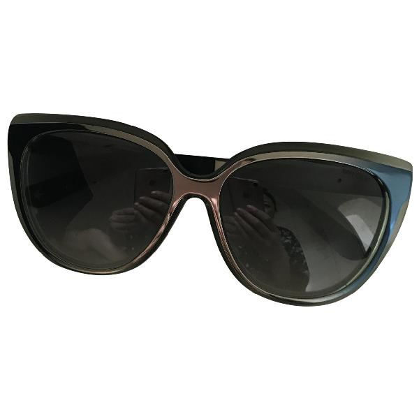 Jimmy Choo Blue Sunglasses