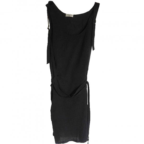 Veronique Leroy Grey Cotton Dress