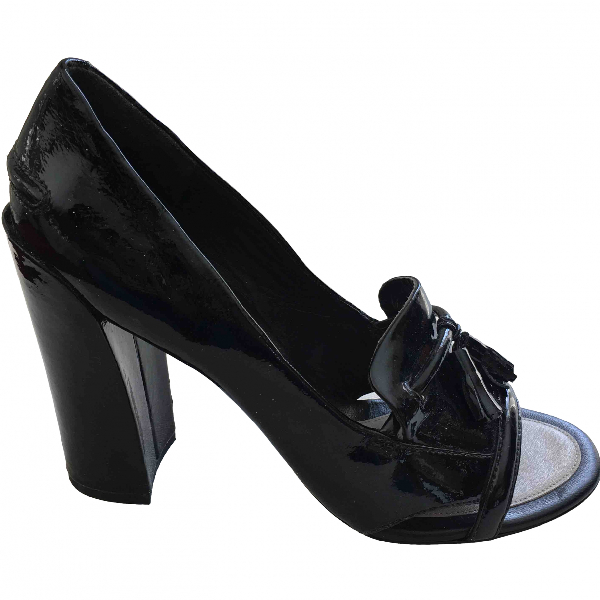 Kenzo Black Patent Leather Heels