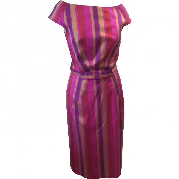 Dior Pink Silk Dress