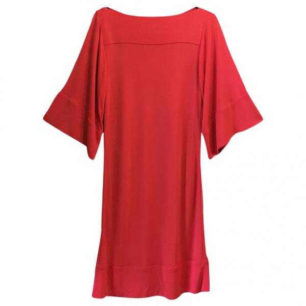 Diane Von Furstenberg Red Dress