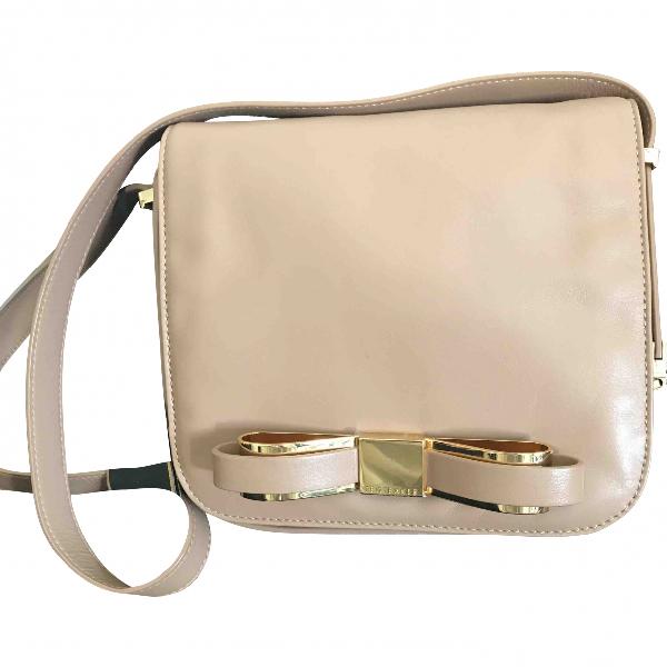 Ted Baker Camel Leather Handbag