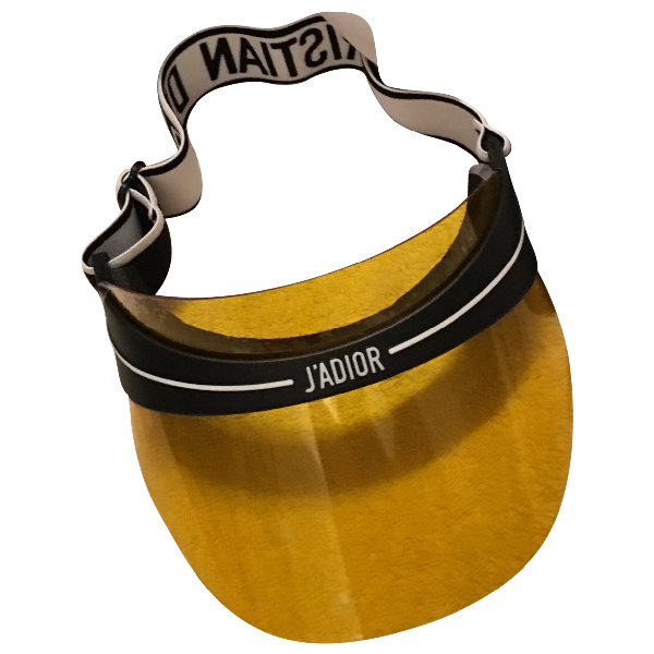 Dior Yellow Hat