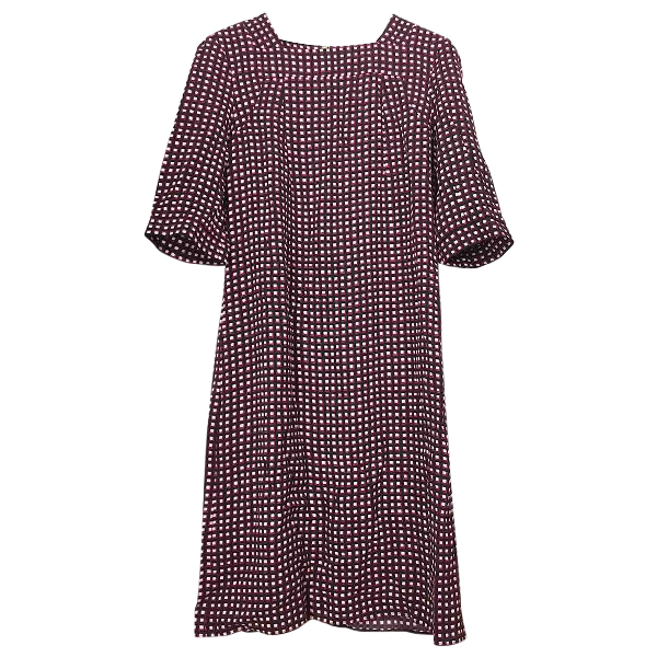 Marni Burgundy Dress