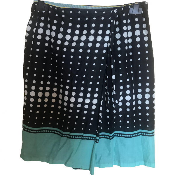 Paul Smith Green Cotton Skirt