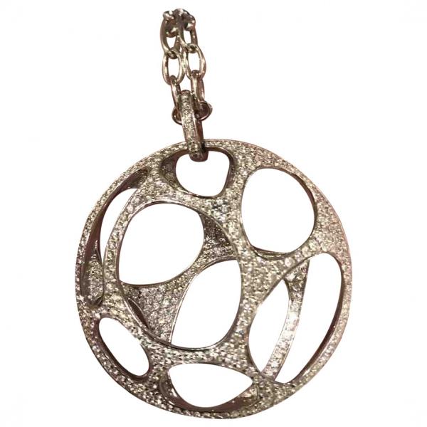 Qeelin White Gold Necklace