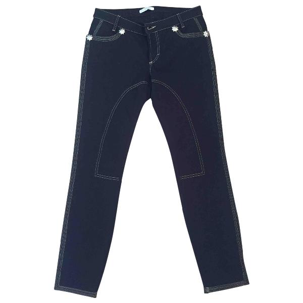 Versace Black Cotton - Elasthane Jeans