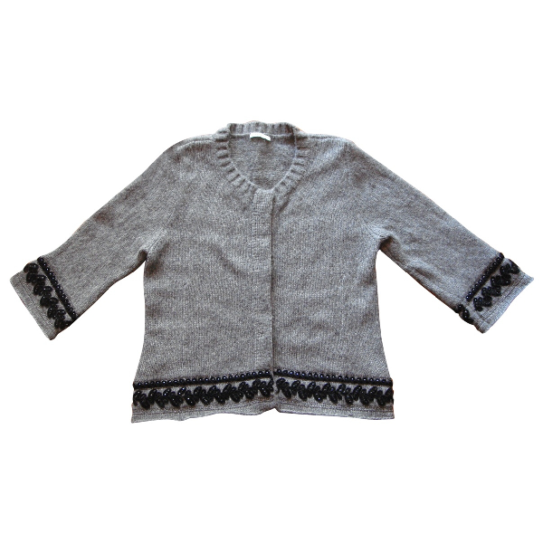 Marella Grey Wool Knitwear