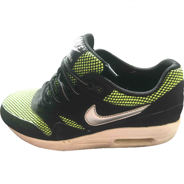 Nike Air Max 1 Green Suede Trainers