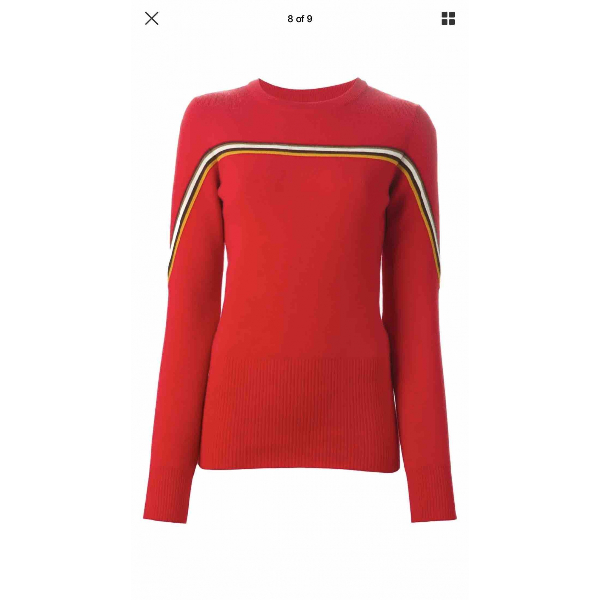 Isabel Marant Red Wool Knitwear