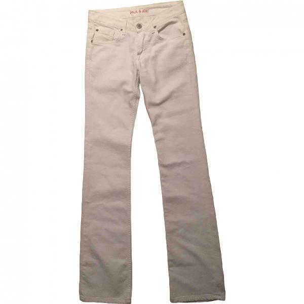 Paul & Joe White Cotton - Elasthane Jeans