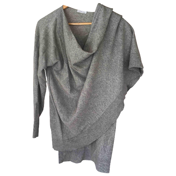Tomas Maier Grey Cashmere Knitwear