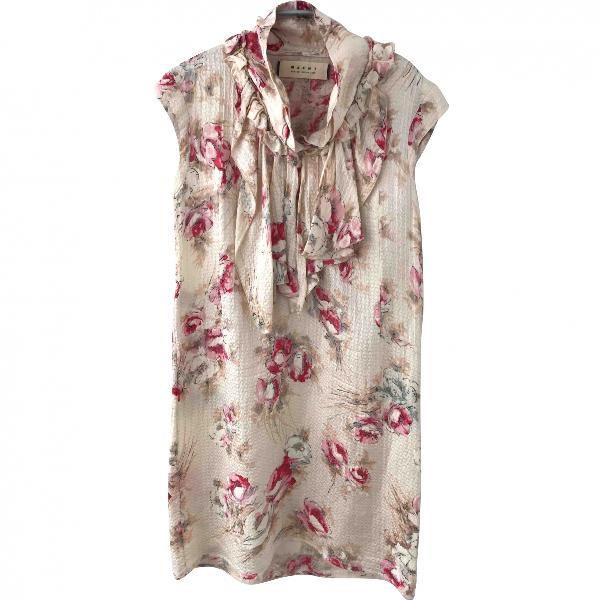 Marni Multicolour Silk Dress