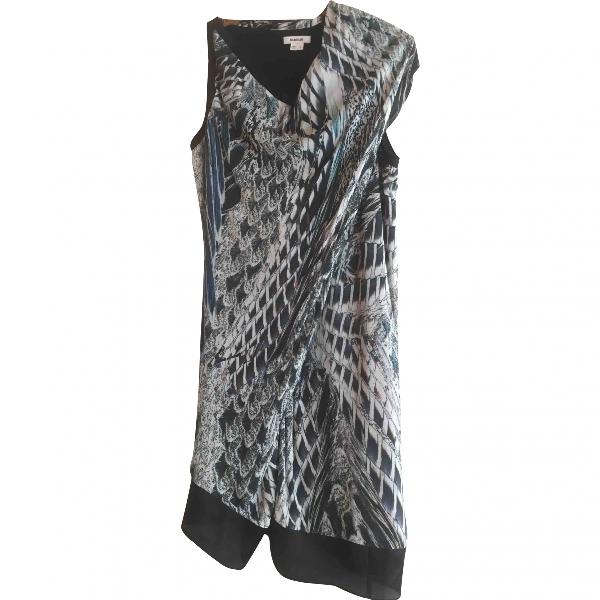 Helmut Lang Blue Silk Dress