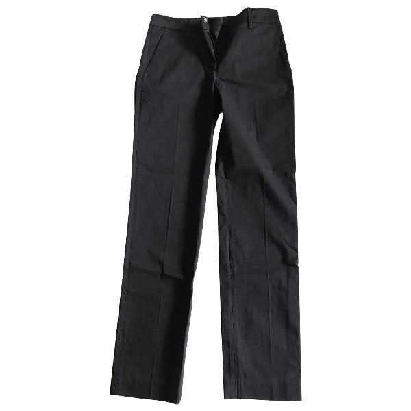 Derek Lam Black Cotton Trousers