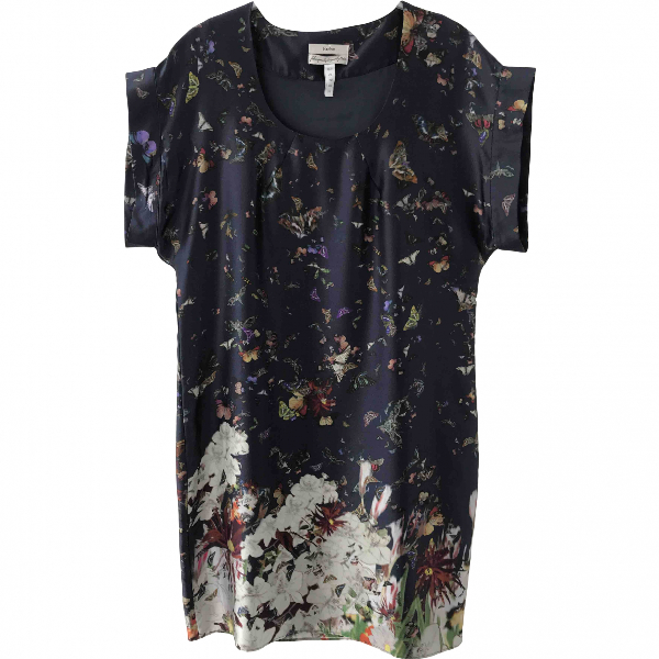 Erdem Black Silk Dress