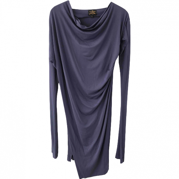 Vivienne Westwood Blue Cotton - Elasthane Dress