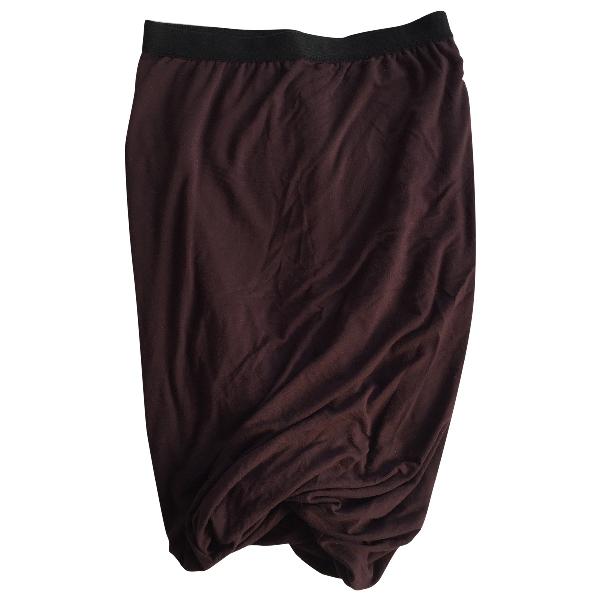 Alexander Wang T Burgundy Skirt