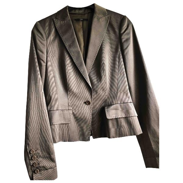 Hugo Boss Metallic Cotton Jacket