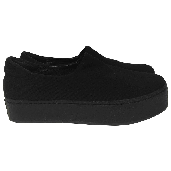 Opening Ceremony Black Cloth Trainers