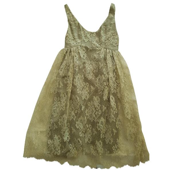 Anna Sui Grey Dress