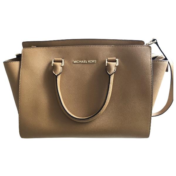 Michael Kors Brown Leather Handbag