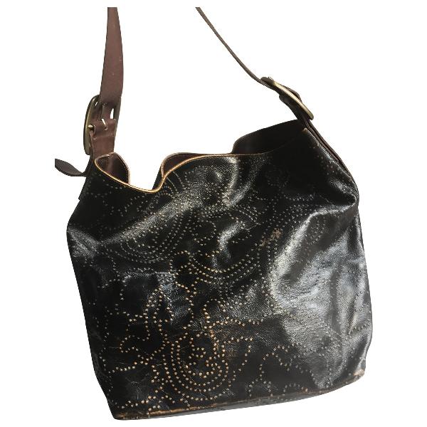 Orciani Brown Leather Handbag