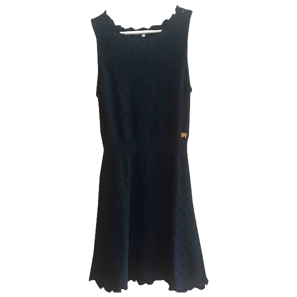 Maje Black Cotton Dress