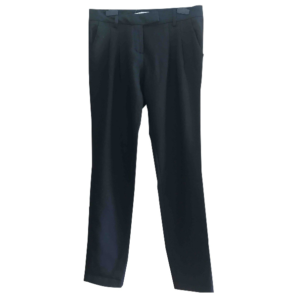 Maje Black Trousers