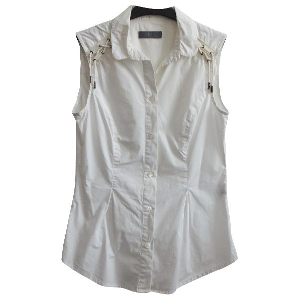 Mcq By Alexander Mcqueen White Cotton  Top