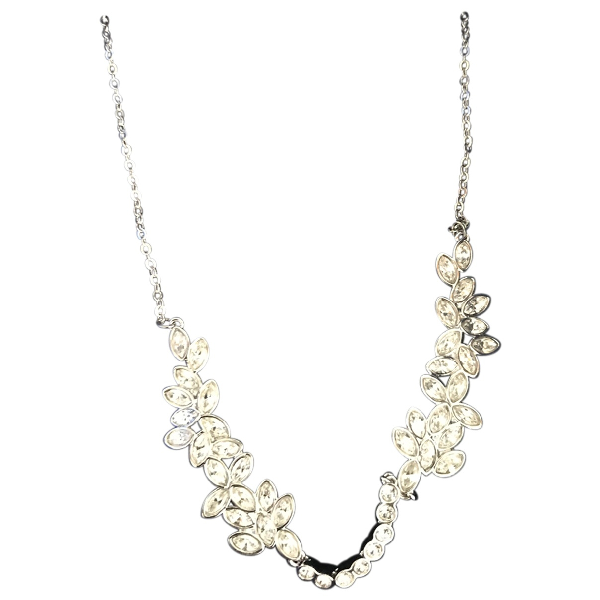 Swarovski Silver Crystal Necklace